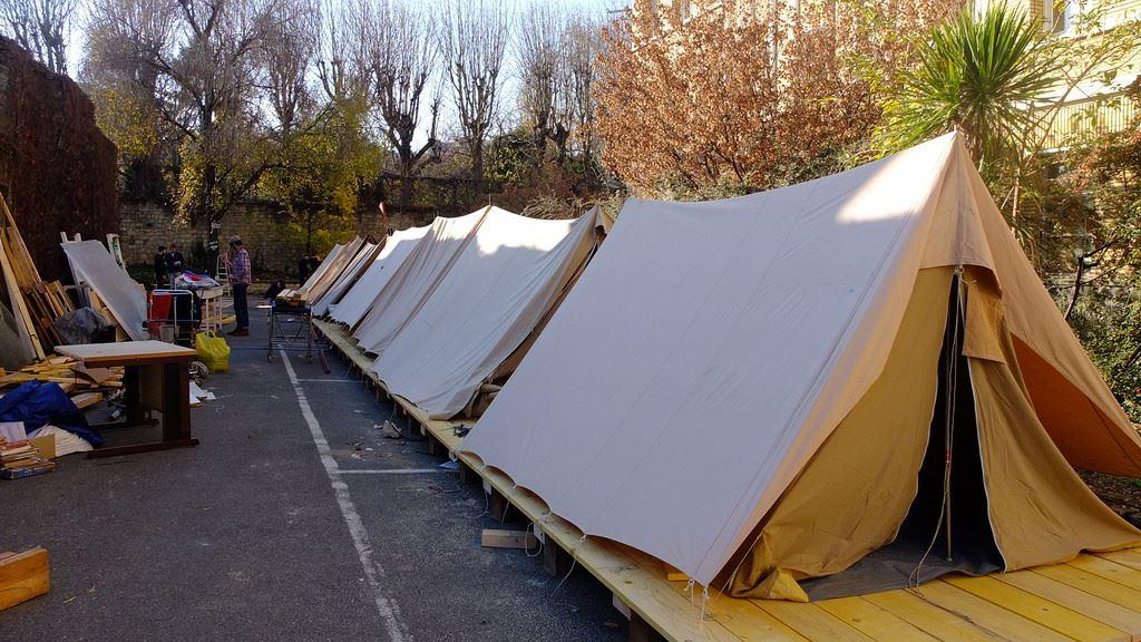 Le Camping de la COP