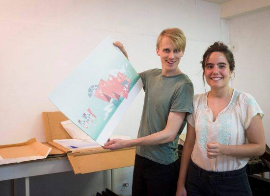 Alice Gauthier et Rob Miles, Atelier Crocolitho