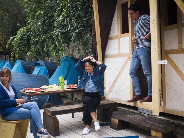 La cabane Tiki (2 personnes) - The Tiki cabin (for 2)